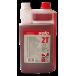 SOLO Profi 2T engine oil, metering bottle, 1litre