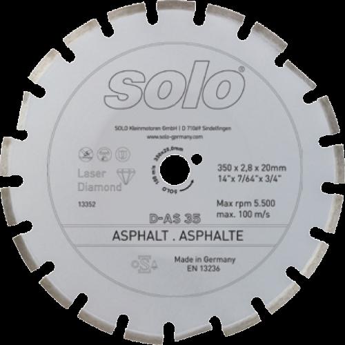 Diamond cutting wheel for ASPHALTE