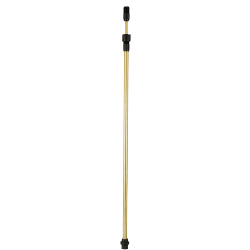 Telescopic spray wand, brass 57 - 100 cm