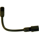 Spray wand extension, flexible, 15 cm