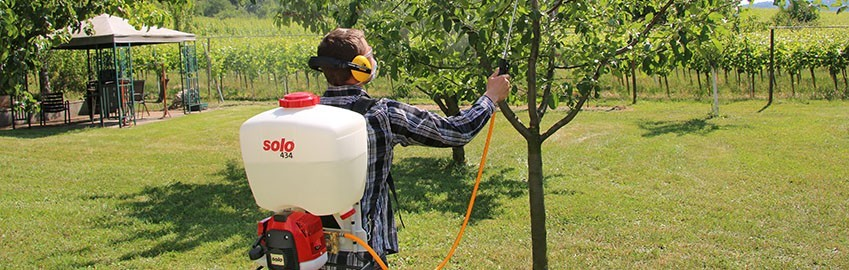SOLO COMFORT Power Backpack Sprayers