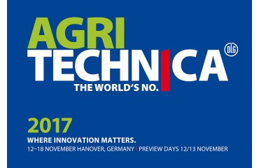 Visit us at the AGRITECHNICA fair in Hannover from 2017-11-12 till 2017-11-18